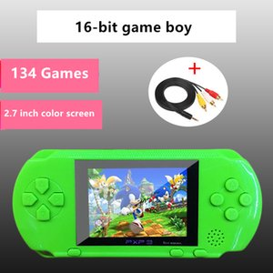 Wholesale free dhl video game resale online - Hot Portable Game Player Mini Handheld Game Sup FC Red and white Console with Entertainment Video System Kids Gift DHL Free
