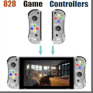 control nintendo switch al por mayor-828D para los controladores de conmutación NS Nintendo Joy con SoundFox Gamepad Bluetooth Wireless Game Joystick Remote Controller Joypad Joycon Console
