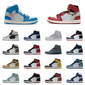 Wholesale japan games for sale - Group buy Mens Basketball Shoes s High Top Hi TS SP Black Toe Bred Japan Court Purple Dark Mocha UNC Patent Red Game Royal Phantom Sahdow Sneakers