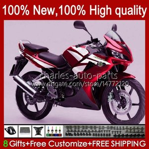 Wholesale tanks sales resale online - Kit Tank For HONDA CBR R red hot sale CBR R CC HC CBR125RR CBR R CBR125R Fairing