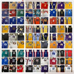 Wholesale green top for sale - Group buy AuthenticStitched WestJersey Retro Stitched Jerseys TOP Quality Mens Yellow White Green Blue Purple Black Red Jersey Size S M L XL XXL