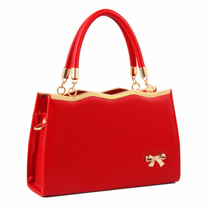 Wholesale bridesmaid bags resale online - HBP Women s bag wedding bag new wild handbag shoulder Messenger bag female red bridesmaid Shoulder Bags