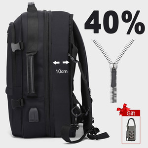 cobrando de volta venda por atacado-Anti Theft Laptop Backpack Men Inch Mochilas Mulheres Male Notebook Back Pack Grande USB Bag de carregamento Waterproof Bagpack