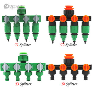 Wholesale types valves resale online - MUCIAKIE Types of Garden Water Splitter to to Connector w Valve to mm Hose Irrigation System Fitting