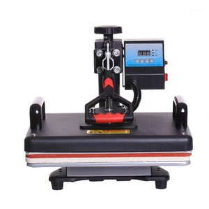 Wholesale shirt heat press machine resale online - 5 in Cheap CM Combo Heat Press Printer Sublimation Machine Heat Press Machine for T shirts Plates Cap Mug Phone Covers1