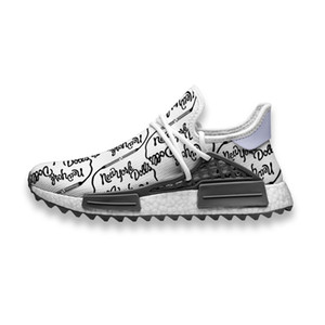 sapatos casuais boneca venda por atacado-Sapatos Custom Running New York Dolls Band Raça Humana NMD Trail Mens Sneakers Casuais confortáveis