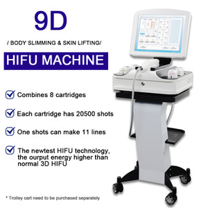 2021 new 3D HIFU face lifting Machine hifu wrinkle removal Skin Rejuvenation body slimming skin care Equipment