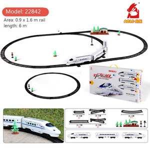 Wholesale toy trains for sale - Group buy Creator Ideas CRH City High Speed Electric Train Bricks Set Technic Railway Building Blocks Model Kids Boy DIY Toys Children