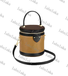 Wholesale handbags messenger bags s resale online - M43986 M55457 CANNES handbag women designer Natural cowhide leather S lock clasp canvas bucket shoulderbag purse cross body messenger bag