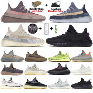Wholesale black shoes resale online - TOP Quality Ash Stone Pearl Black Static Reflective Sand Taupe Running Shoes Desert Sage Zebra Carbon Zyon Men Women Trainers Sneakers