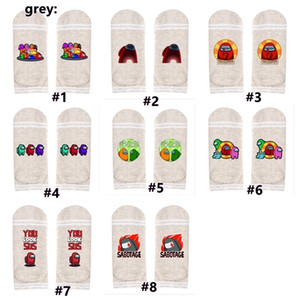 Wholesale green boats ships resale online - Game design Ankle Socks Unisex Striped Designer Socks Cartoon Anime Boat Ship Sock Men Women Sports Basketball Socks Hosiery G11202