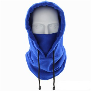 ingrosso balaclava moda-DHL Shipping Warmer Fleece Balaclava per le donne Uomo Maschere antivento Maschere Bicycle Cold Weather Mask Maschera Fashion Fashion Sport all aperto Cappuccio invernale OWA2073