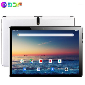 Wholesale new octa core tablet resale online - New G Phone Call inch Tablet PC Google Play Android Octa Core GB GB Dual SIM Wi Fi Bluetooth New System TabletS1