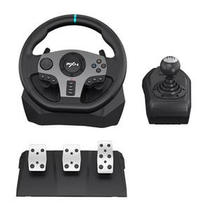 Wholesale xbox ones games for sale - Group buy PXN V9 Gaming Steering Wheel Pedal Vibration Racing Wheel Rotation Game Controller for Xbox One PC PS for Nintendo Switch