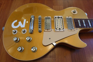 Wholesale tuners for guitars resale online - Rare Pete Townshend Deluxe Goldtop Gold Top Electric Guitar Mini humbuckers Pickups Grover Tuners Chrome Hardware