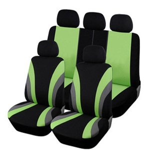 Wholesale quality car seat covers resale online - High Quality Car Seat Covers Universal Fit Polyester MM Composite Sponge Car Styling lada cases seat cover accessories