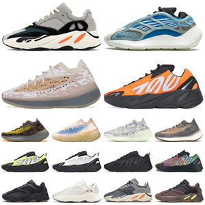 Wholesale silver pepper resale online - kanye west running shoes reflective v3 azareth srphym Alien mist Lmnte Pepper Solid Grey Salt mens womens trainers sports sneakers