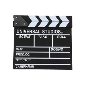 Wholesale wooden clapper for sale - Group buy 12x11 inch cm x cm Wooden Director s Film Movie Slateboard Clapper Board1