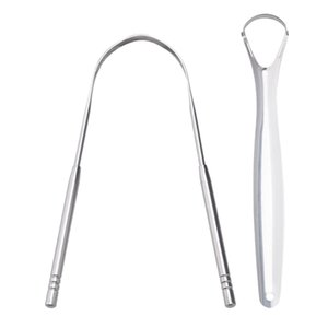 Tongue Scraper, Stainless Steel Tongue Cleaner Reusable Tongue Scraper for Adult and Kids