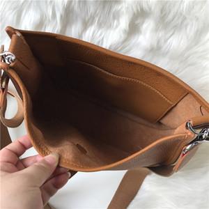 Women clutch purses Classic Evelyn Calfskin togo Genuine Leather Top quality Designer Handbags Hollow out Messenger Shoulder Bags Medium