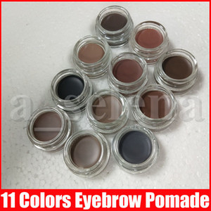 11 colors Eyebrow pomade cream Waterproof eyebrow Enhancers Creme Makeup full size with retail box in stock