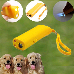 Wholesale dog stop barking device resale online - Pet Dog Repeller Dog Training Device Pet Anti Barking Stop Bark Trainer LED Ultrasonic in Anti Barking Ultrasonic Without Battery
