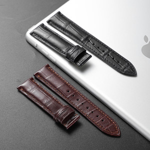 Wholesale brown skin spots for sale - Group buy Genuine Crocodile Leather Watch Band Spot Factory Alligator Skin mm