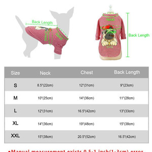 Wholesale cats clothes for sale - Group buy Fashion Cat Clothes Pet Dog Clothes For Small Dogs Cats Soft Cotton Summer Kitten Puppy Clothing Vest Stripe Dog T shir jllxSu