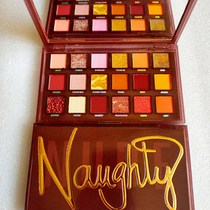 paletas de sombras de ojos al por mayor-Hot Naughty Nude Colors Eyeshadow Shimmer Mate Colors Paleta de ojos