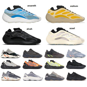 spor ayakkabıları womens toptan satış-2021 wave runner v1 v2 v3 mnvn men women shoes Safflower Sun Clay Brown Azareth Alvah Azael Bone Inertia sports sneakers trainers