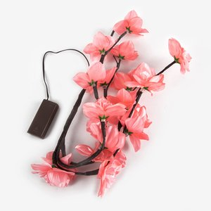 Wholesale artificial flowers lights resale online - Ins Battery Box Color Lamps LED Artificial Flower Decorative Colored Lights Simulated Branch Decorate Light Creative wc L1