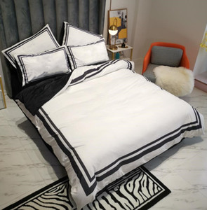 Fleece Fabric Woven Bedding Sets Queen Size Printed Quilt Cover Sets sale 2 Pillow Cases Bedding Sheet Duvet Cover