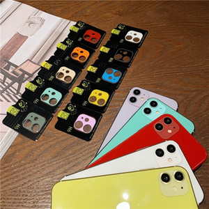 Wholesale colorful lenses for sale - Group buy Full Cover Camera Lens Protector for iPhone Pro Max Back Camera Glass Case Cell Phone Camera Protective Tempered Glass Film Colorful