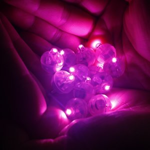 Wholesale white flashing led lights for balloons resale online - 100pcs Round RGB LED Flash Ball Lamps White Balloon Lights for Wedding Party Decoration Colors High Quality Vase Decor