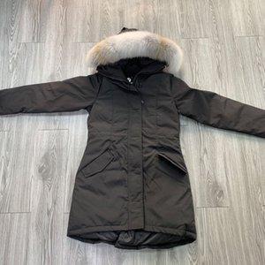 Sweden UK Wolf Fur Women Winter Jacket Windbreaker Clothes Womens Puffer North Jackets Down Jacket Parka Coats Doudoune Femme winterjacke