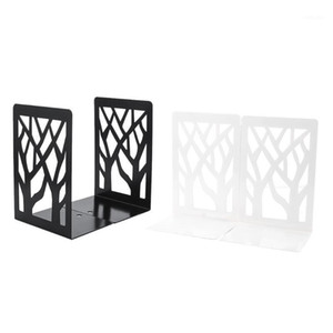 Wholesale book shelves resale online - 2Pieces Bookends Book Ends for Shelves Metal Bookend Book Divider Holder Decorative Bookends for Office School Home Decor1