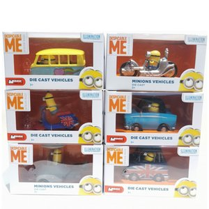 Wholesale hot boos resale online - Minion Boo Ya Stuart And Lucy s Car Diecast Baby Bauble Model Kit Collectibles Hot Pop Kids Toys