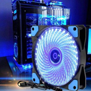 ingrosso calcolatore fly-1 mm PC Case Ventola di raffreddamento Super Silent Computer LED High Airflow Fly Fans Qy99