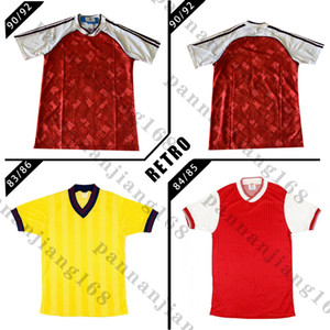 1990 1992 arsen Ian Wright Tony Adams Cole retro soccer jersey ROCASTLE Dixon Campbell Merson Smith 83 84 85 classic vintage football shirt
