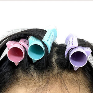 Wholesale perming rods resale online - Hair Curler Clips Clamps Roots Perm Rods Styling Rollers Fluffy DIY Hair Tools Lightweight Easily Carrying Part For Women