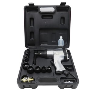 Wholesale air impact wrench for sale - Group buy 1 NM Air Pneumatic Wrench Kit Impact Pneumatic Power Tools Set Tire Removal Impact Wrench Kit Power Tools
