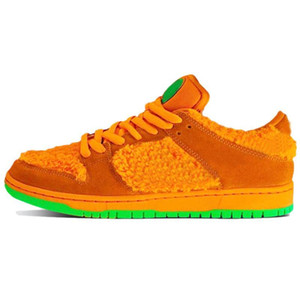 Wholesale plate bearing resale online - Top Dunky Orange Yellow Bear Chunky Dunky Mens sports sneakers Safari dunks Plate forme casual Platform Low women Running shoes Skateboard