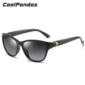 Wholesale cat buckles resale online - Design Fashion Cat Eye Decoration Uv400 Frame Goggles Buckle Sunglasses Women Driving Mirror Sun Polarized Female for Glasses Qcxan
