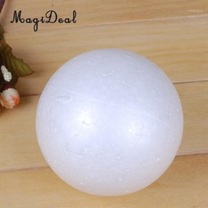 Wholesale styrofoam balls resale online - 1pc mm Creative Modelling Polystyrene Styrofoam Foam Ball DIY Materials1