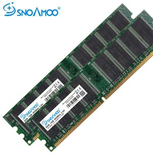ddr rams оптовых-Snoamoo Desktop PC RAMS DDR МГц ГБ ОЗУ PC U DDR1 МГц DIMM Non ECC Компьютер PIN Настольная память Зароком службы памяти Ордер