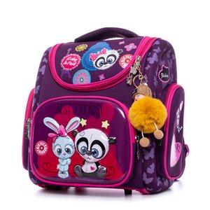 Wholesale schoolbag orthopedic for sale - Group buy Waterproof Children School Bags Orthopedic Backpack for Kids Primary Book Satchels Cartoon Panda owl Car Schoolbag Mochila Q1107