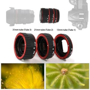 Wholesale ef lens adapter resale online - Lens Adapter Mount Auto Focus AF Macro Extension Tube EF S T4i Lens D D T5i For D D D D T2i T3i Ring U9X11
