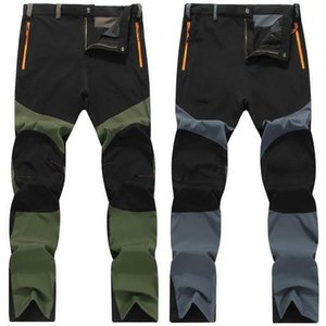 Wholesale rains pants resale online - New Fashion Men Women Waterproof Trousers Rain Pants Motorcycle Fishing Hiking Trousers Outdoor Casual Long Pants Y0107