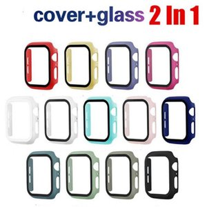Watch Cases For Apple Watch i watch Cover With Glass Tempered Film Protector Wearable Smart Accessories