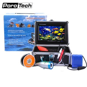 Wholesale video fishing for sale - Group buy waterproof White LED TVL TFT LCD Monitor fish finder Underwater Fishing Camera with video output connector CR110 L